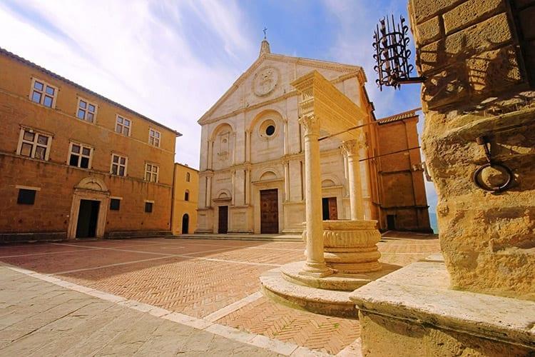 De kathedraal van Pienza