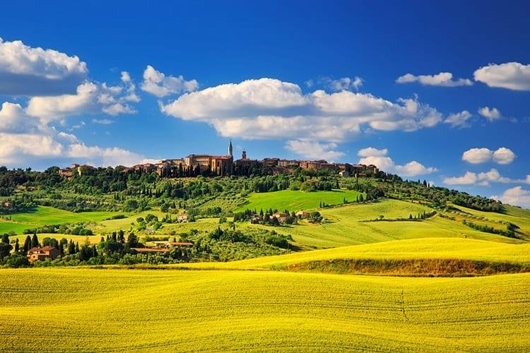 Pienza, Toscane
