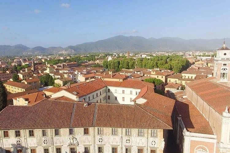 Het oude centrum van Pisa