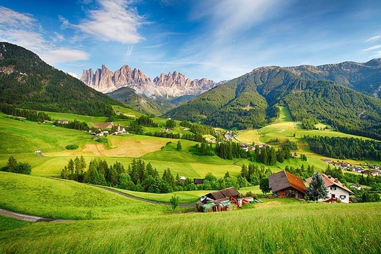 Val di Funes, Zuid-Tirol