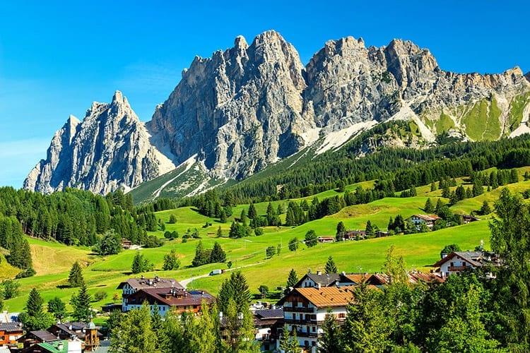 Cortina D Ampezzo, Zuid-Tirol
