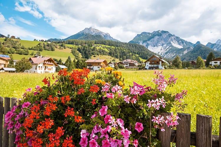 Val Gardena in de zomer