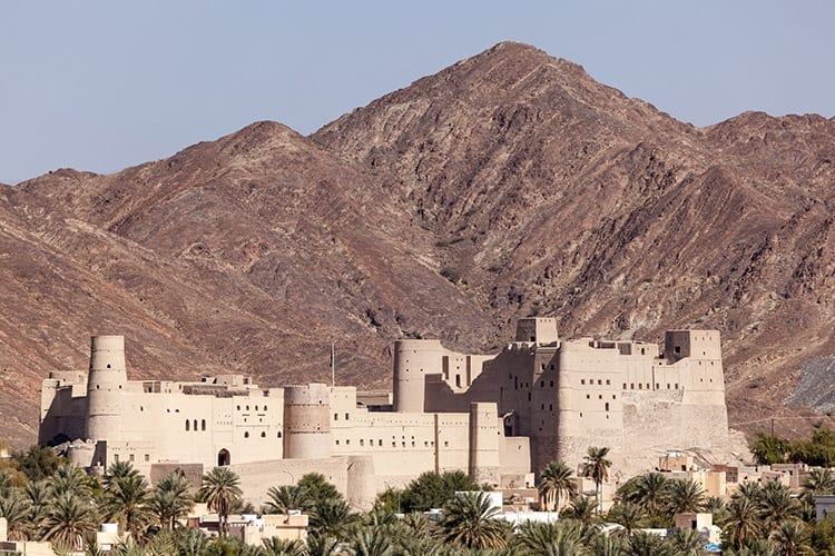 Bahla Fort, Hadjargebergte