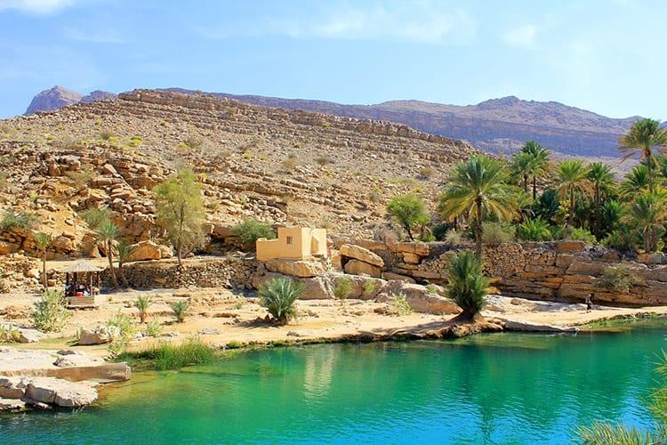 Wadi Bani Khalid, Hadjargebergte