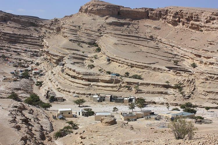 Quran op het Salma plateau, Oman