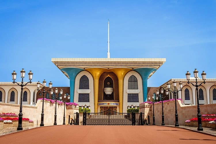 Al-Alam paleis, Oman