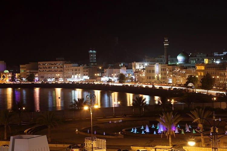 Muttrah corniche, Muscat