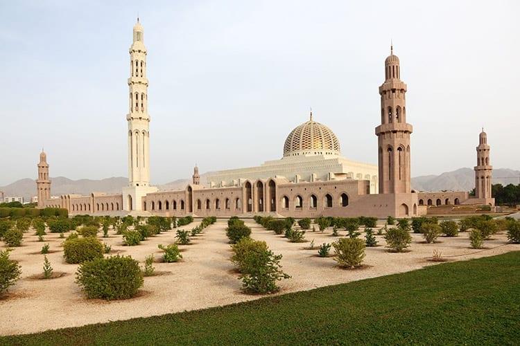Sultan Qaboos Moskee, Muscat