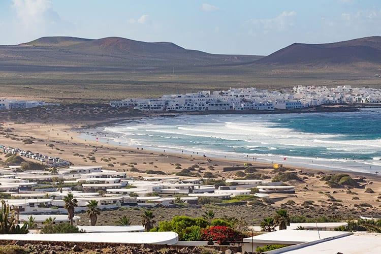 La Caleta de Famara, Lanzarote