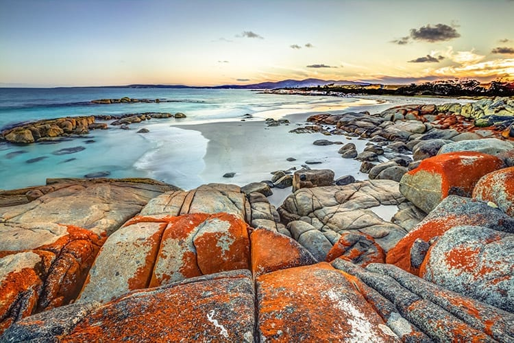 Bay of Fires, Tasmanië