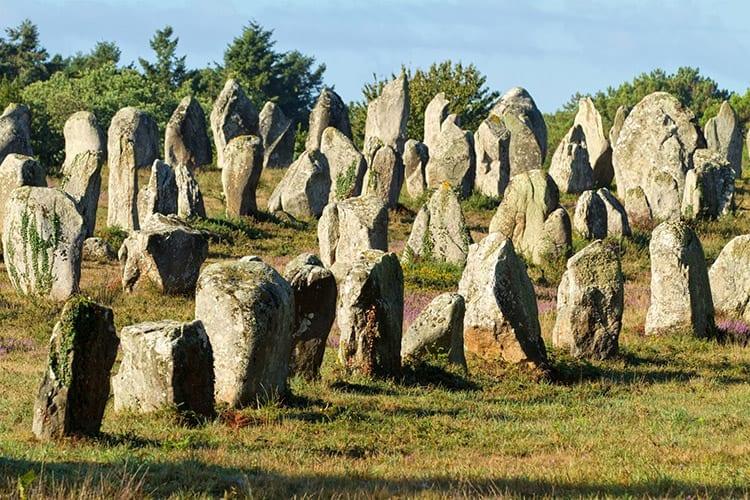 Megalieten van Carnac, Bretagne