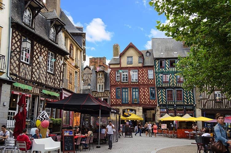 Place Sainte-Anne, Bretagne