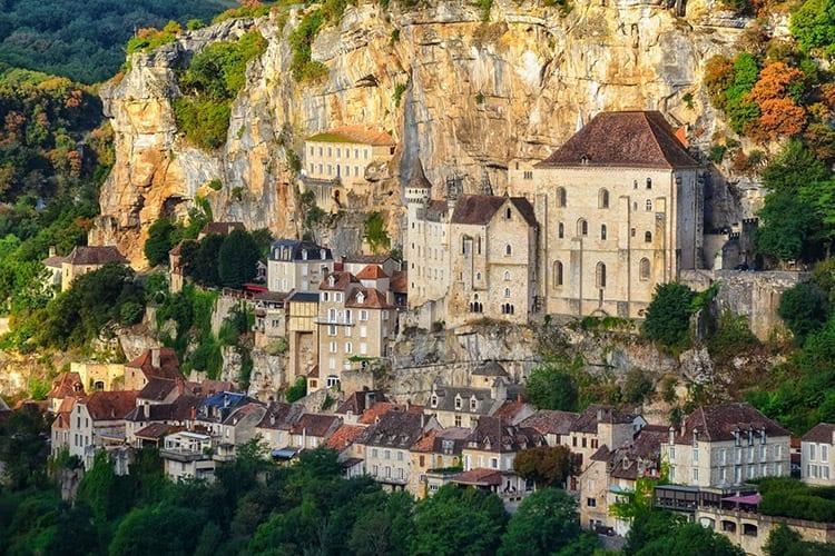 Bedevaartsoord Rocamadour, Dordogne