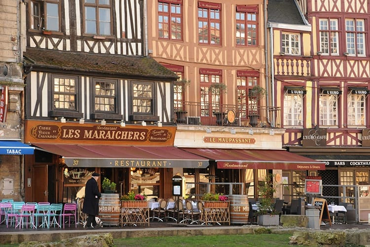 Rouen, Normandië