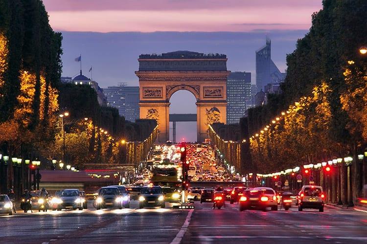 Champs-Élysées, Parijs