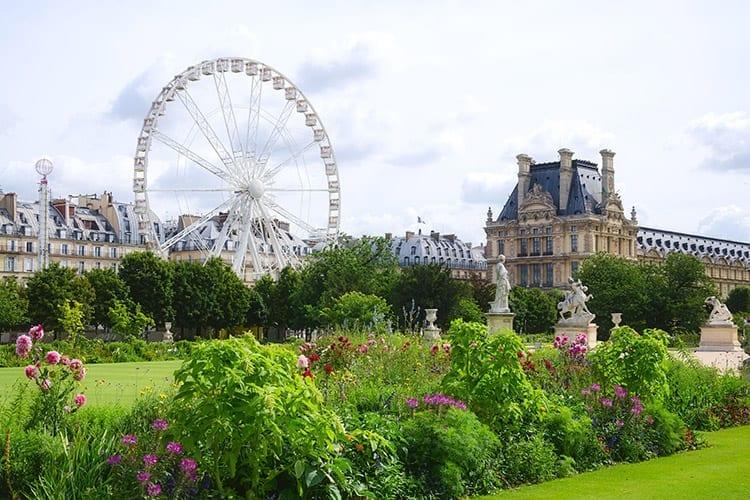 Jardin des Tuileries, Parijs