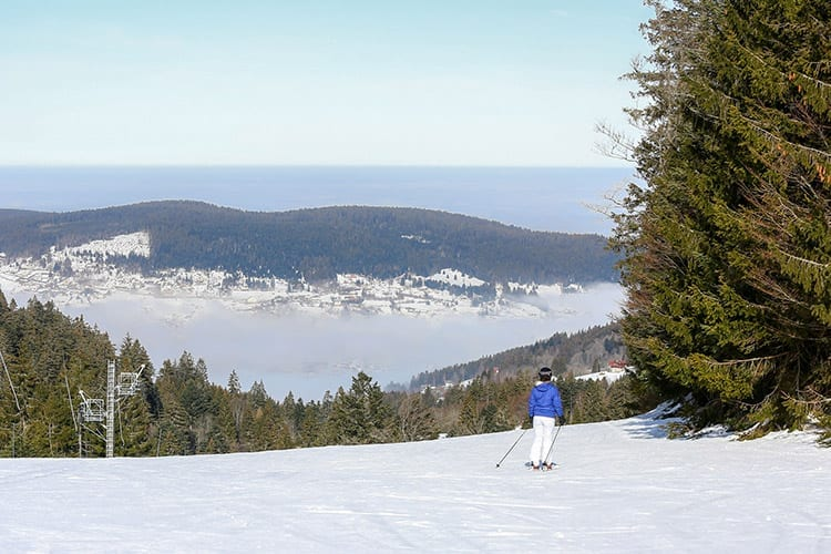 Gérardmer wintersport, Vogezen