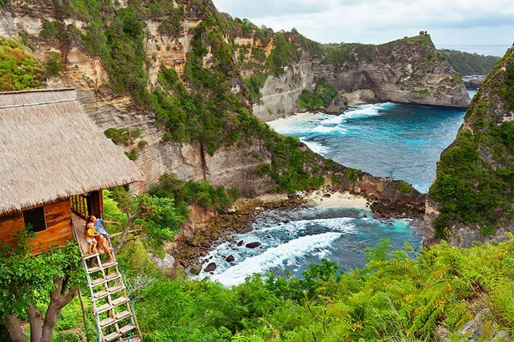 Tree house, Nusa Penida