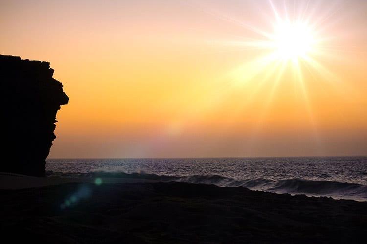Ras Al Jinz strand