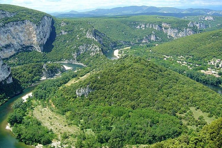 Belvédère du Serre de Tour, Ardèche
