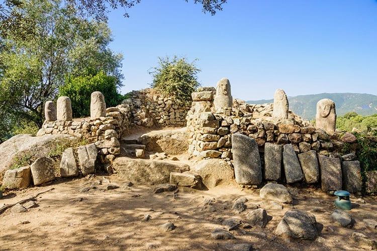 Menhirs bij Filitosa, Corsica