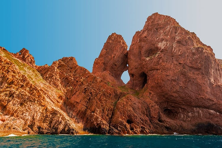 Natuurreservaat Scandola, Corsica