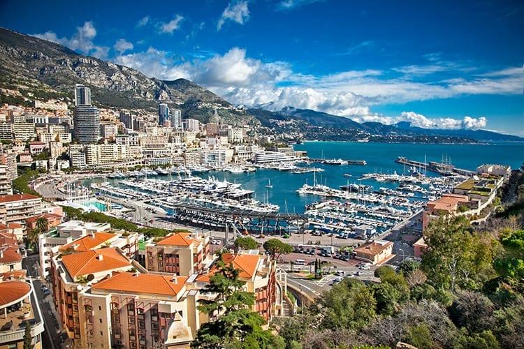 Monaco, Côte d'Azur