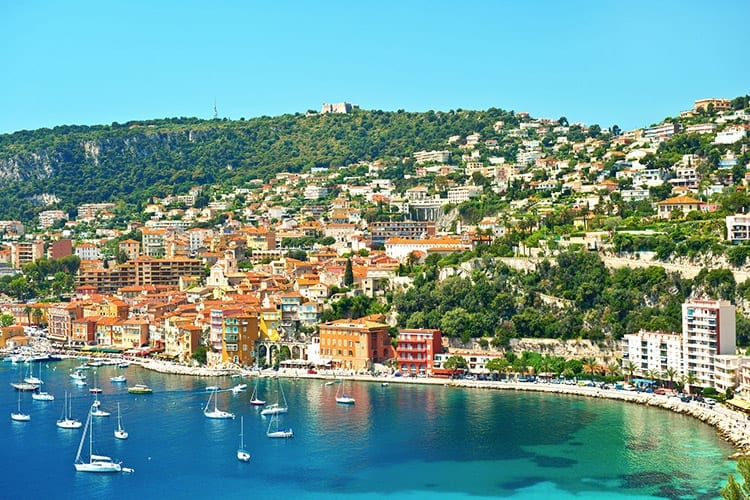 Villefrance-sur-Mer, Côte d'Azur