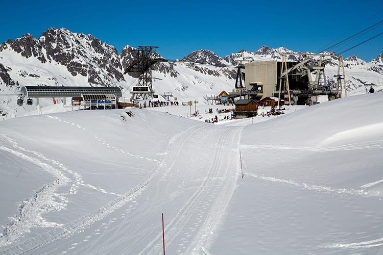 Skigebied bij Les Rousses, De Jura
