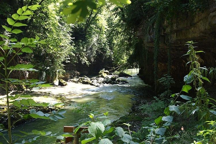 Pertes de la Valserine, Jura