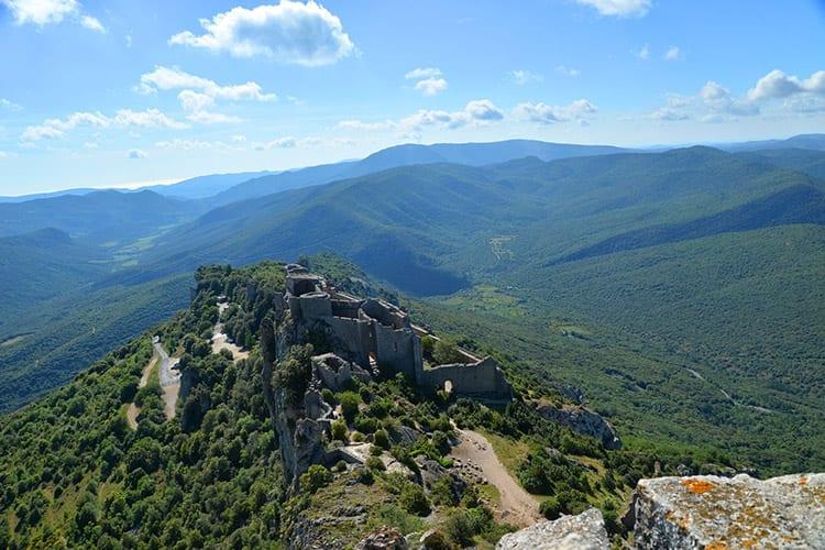 Kasteel van Peyrepertuse, Languedoc-Roussillon