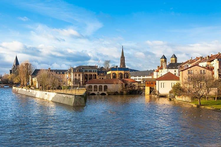 Metz, Lotharingen