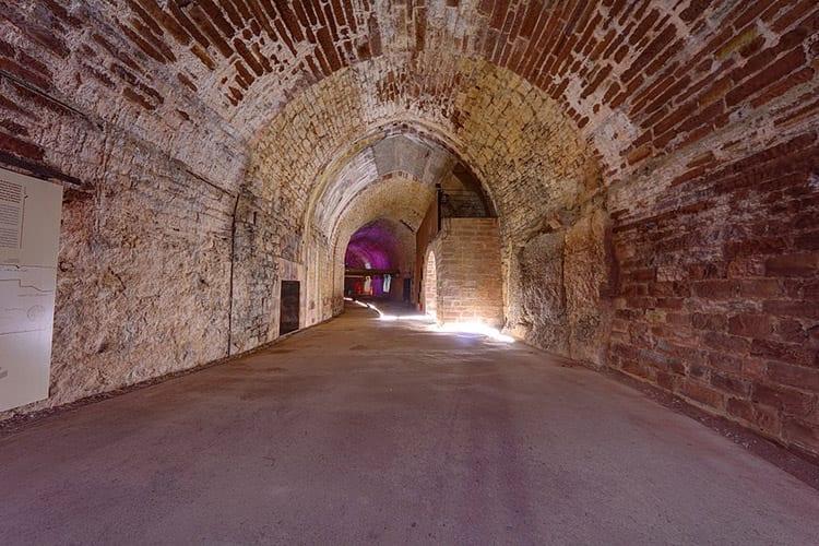 Citadelle Souterraine in Verdun, Lotharingen