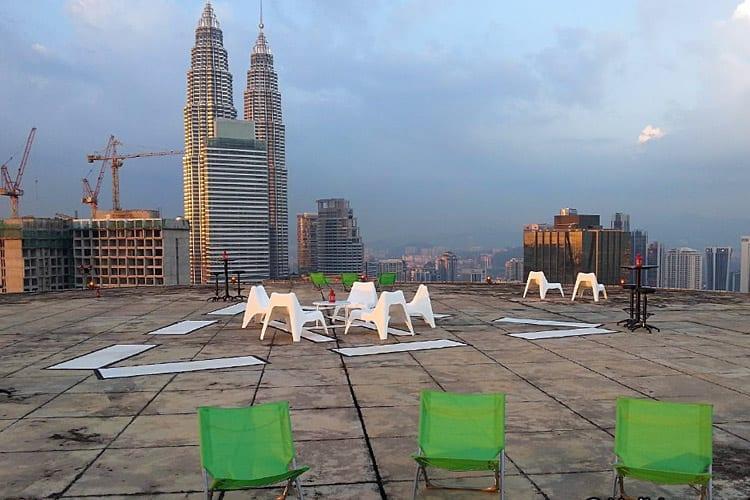Heli Lounge skybar, Kuala Lumpur