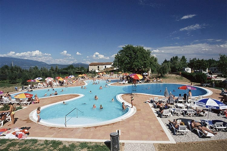Gardameer Camping Fornella