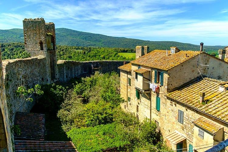 Monteriggioni, Toscane