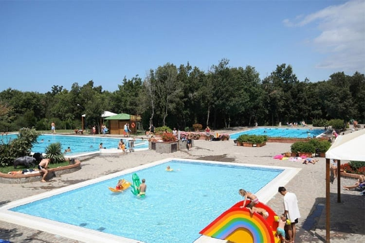 Camping Montescudaio, Toscane