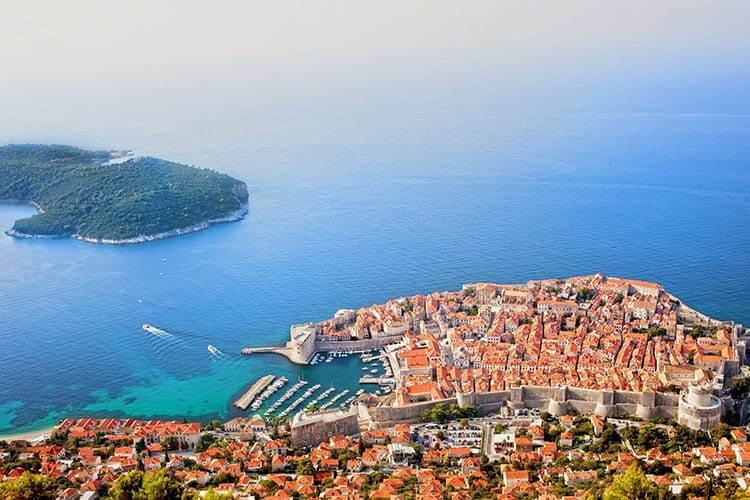 Lokrum eiland, Dubrovnik