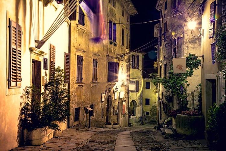 Groznjan, Istrië