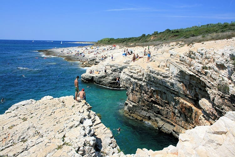 Kaap Kamenjak, Istrië