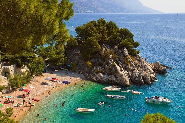 Makarska Rivièra, Dalmatië