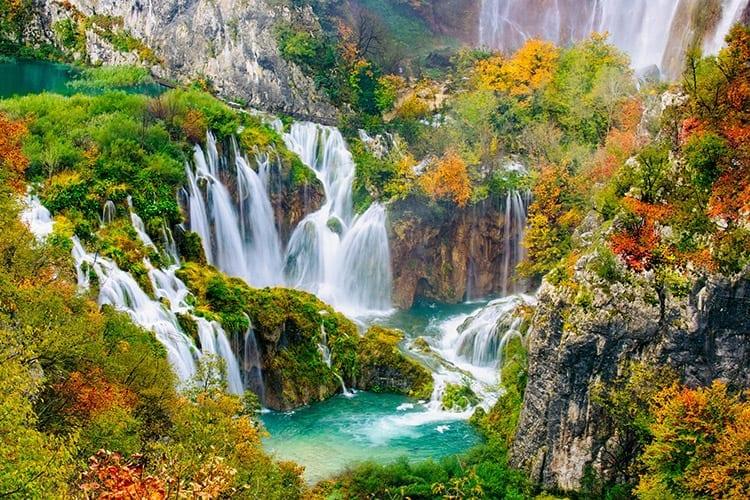Plitvicemeren, Kroatië