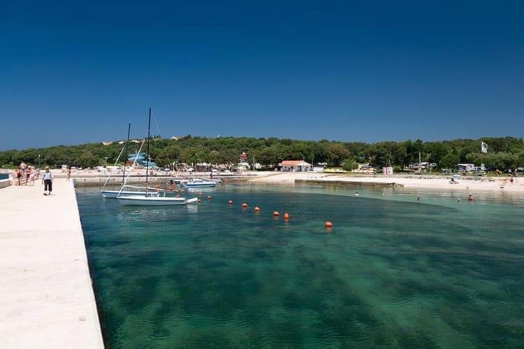 Amarin Resort strand, Rovinj