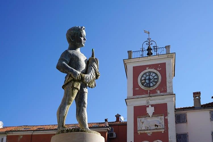 Trg Maršala Tita plein, Rovinj