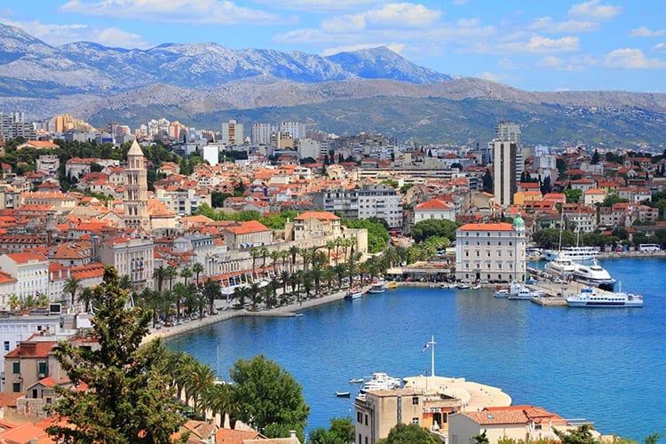 Split, Dalmatië