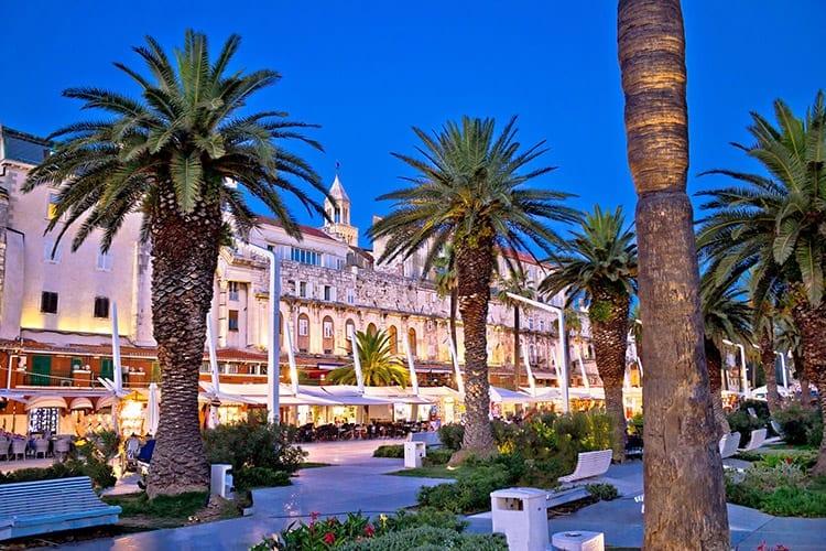 Palmenpromenade, Split