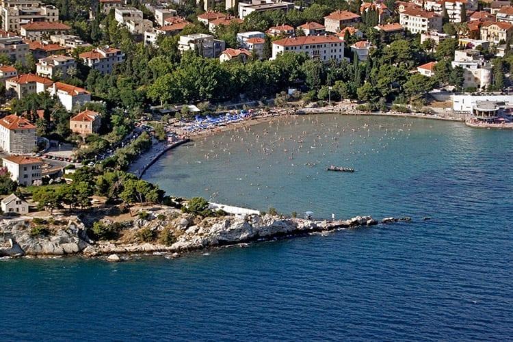Stadsstrand Bacvice, Split