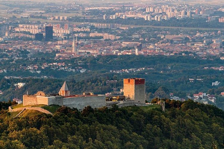 Medvednica bergen, Zagreb