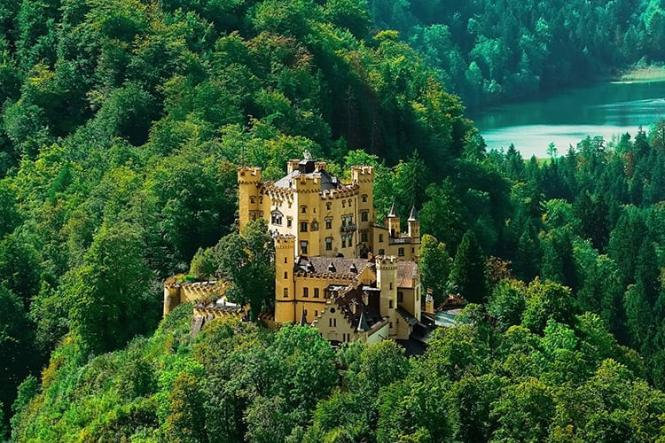 Slot Hohenschwangau, Beieren