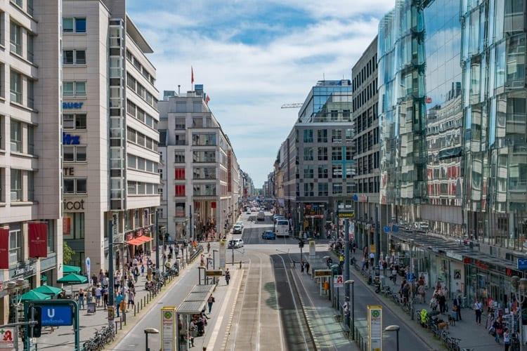 Winkelen in Berlijn